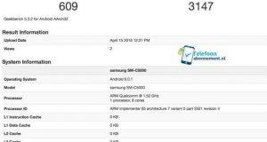 Samsung Galaxy C Bilgileri Ortaya Çıktı