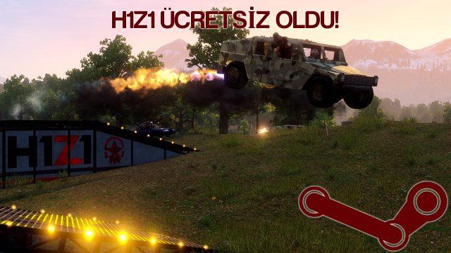 h1z1 free to play ücretsiz oldu